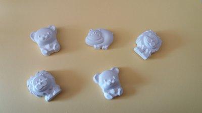 Bomboniera animali gesso ceramico per fai da te