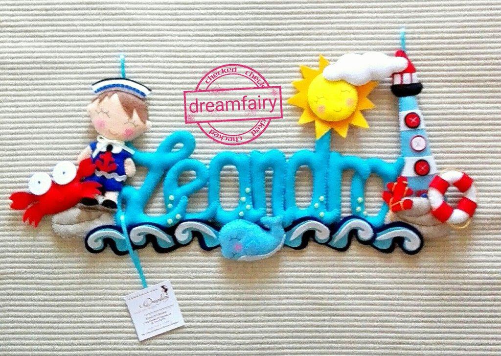 Banner nautico bambino