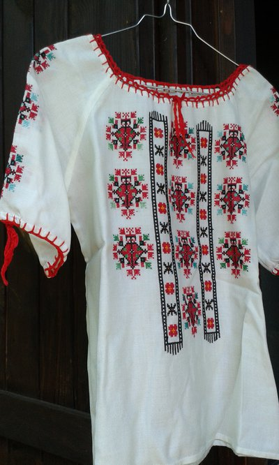 camicia donna misto lino usato 2