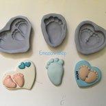Stampi nascita piedini