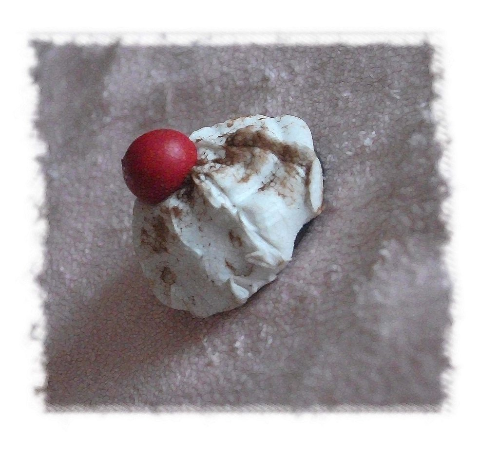CALAMITA panna con ciliegina