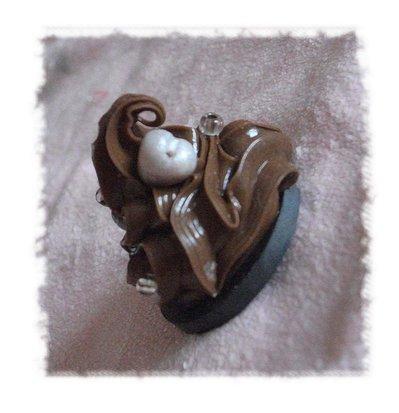CALAMITA spumone cioccolato con cuore