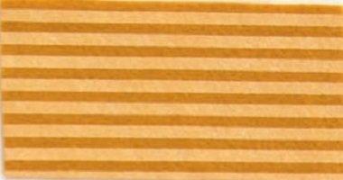 Foglio pannolenci 30x40cm giallo senape a righe