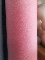 pannolenci glitterato rosa - argento 50 x 90 cm