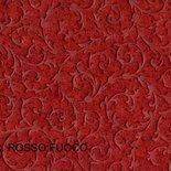 Feltro imprimè rosso 40x75cm effetto damascato