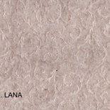 Feltro imprimè color lana effetto damascato in rilievo 20cm x 150cm