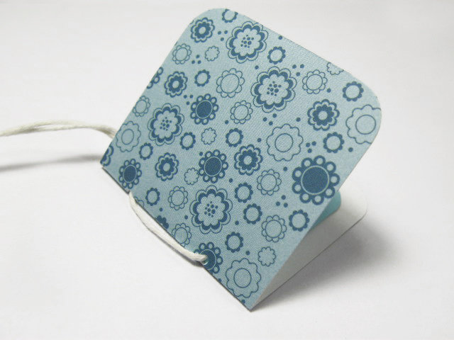Chiudi pacco - Blue Flowers
