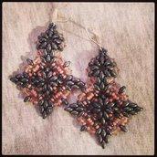 """Orecchini pendenti """"Tiffany"""" con cristalli Swarovski"""