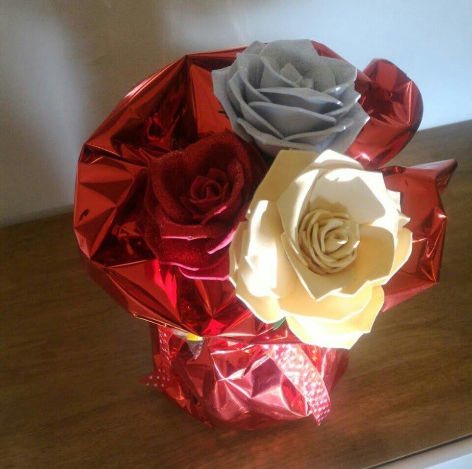 bouquet profumato rose