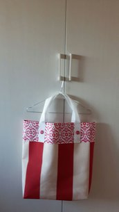 Shopping Bag in tessuto fantasia