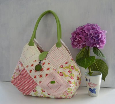 Borsa patchwork - Square Bag