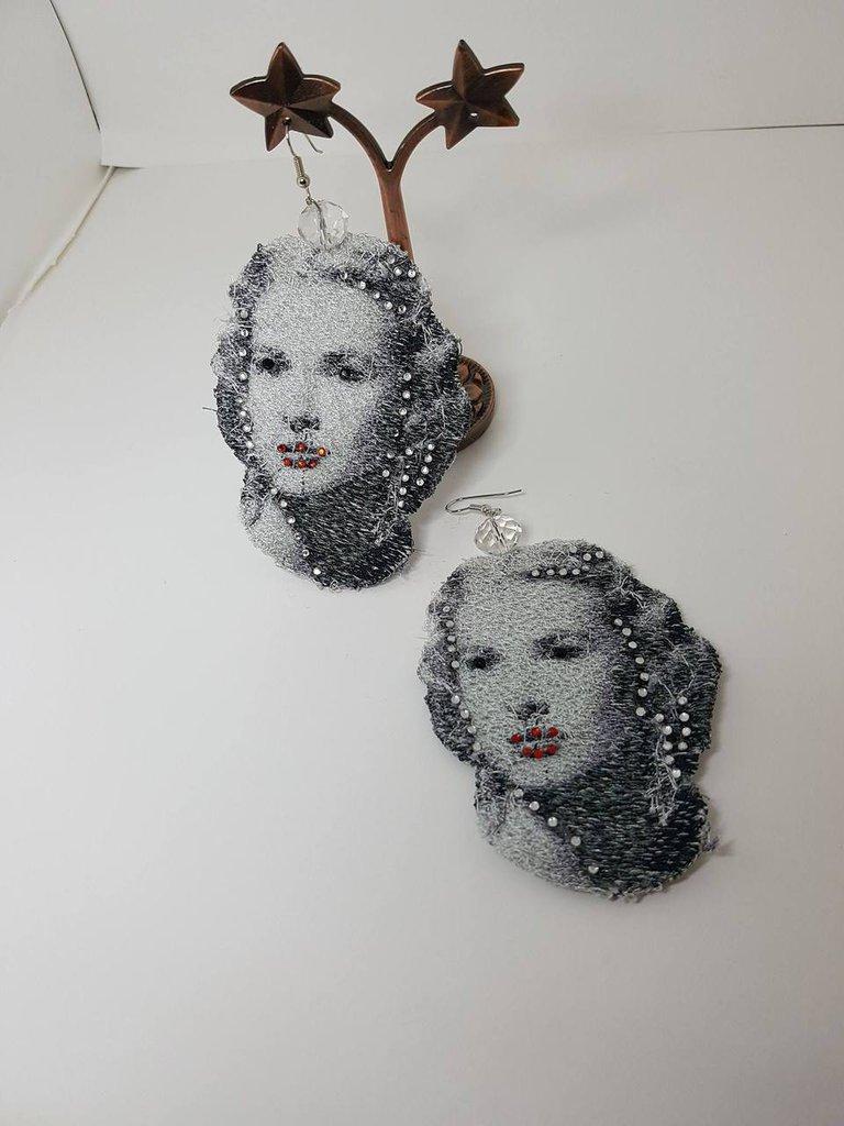Orecchini in pizzo Linea Glamour Grace Kelly