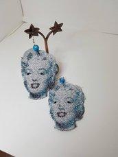 Orecchini in pizzo Linea Glamour Marilyn Monroe