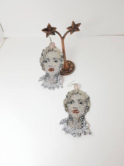 Orecchini in pizzo Linea Glamour Madonna
