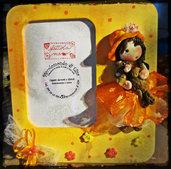 Cornice Bambolina con orsetto
