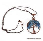 Collana wire albero della vita  in rame