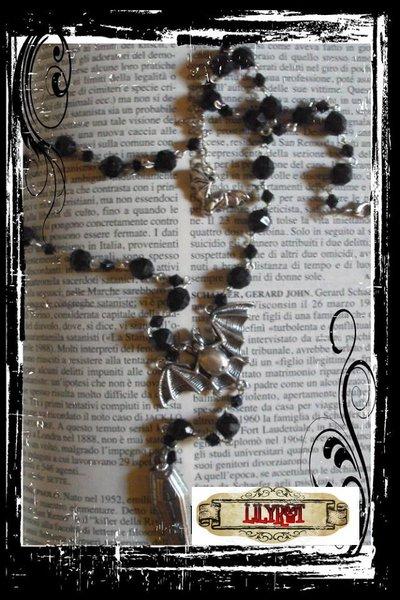 collana rosario vampiro bara gothic vittoriano