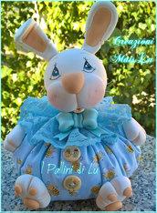 Coniglietto Baby - Fermaporta I Pallini di Lu