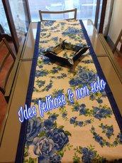Set cucina rosa blu