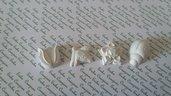 Bomboniera fiori, farfalla coccinella gesso ceramico per fai da te