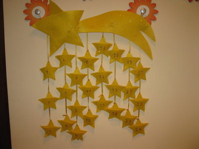 Calendario dell'Avvento 1 - Una cascata di stelle