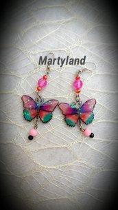 Orecchini farfalline 1