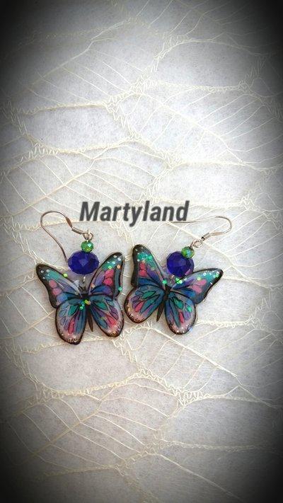 Orecchini farfalle 2