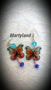 Orecchini farfalle 3