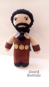 Drogo amigurumi - Game of thrones
