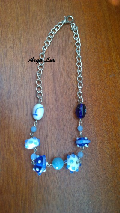 Collana Shades of blue