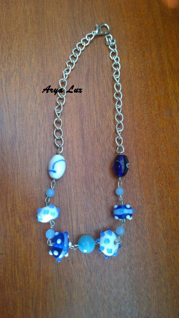 Collana Shades of blue