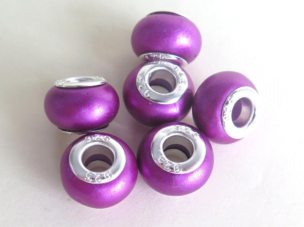 5 Perle Polymer FUCSIA PFL74