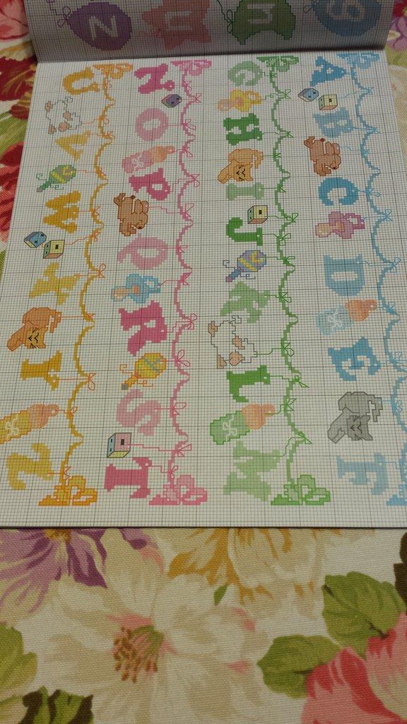 Lettere Alfabeto Punto Croce Per Bambini 28 Images Puntocroce