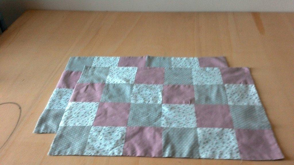 Tovagliette  americane patchwork