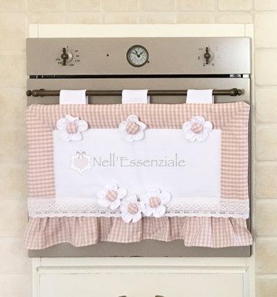 Copriforno Romantico, Copri forno rosa