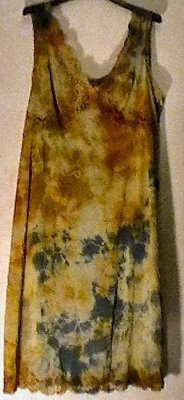 sottovesti vintage TIE AND DYE