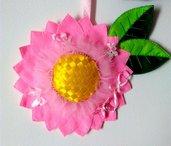 Fiore decorativo pannolenci