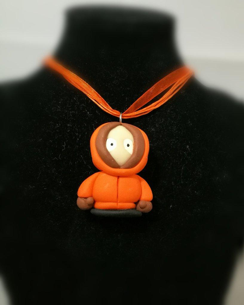 Collana in fimo con Kenny(South Park)