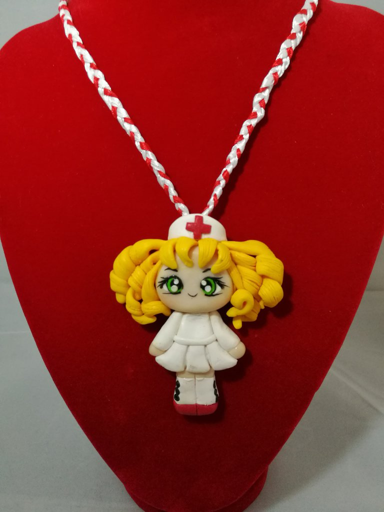 Collana in fimo con Candy Candy