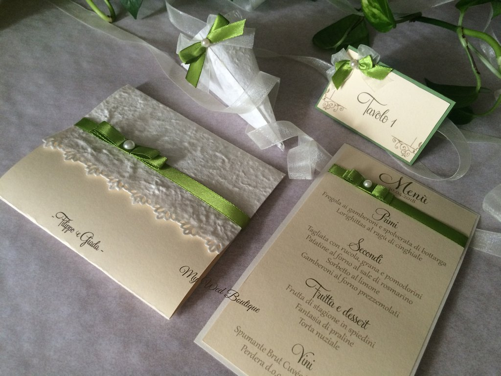 Wedding stationery - Grace