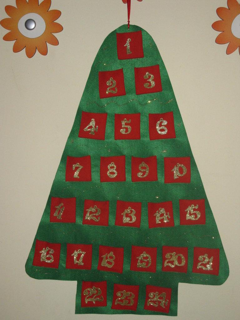 Calendario dell'Avvento 3 - L'albero di Natale