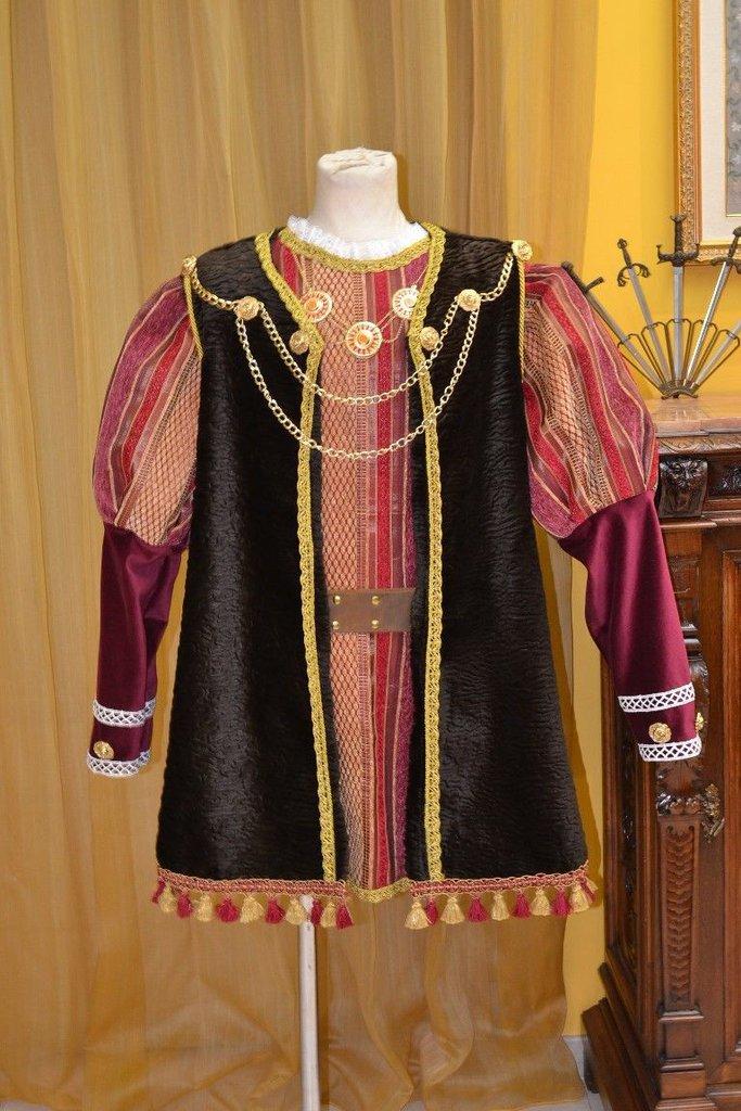Abito d'Epoca Costume Storico Enrico VIII