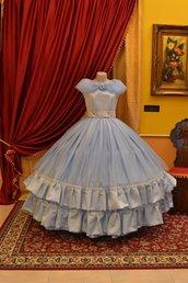 Abito d'Epoca Cenerentola Costume 1800