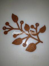 Fustellati foglie feltro