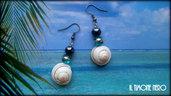 """Orecchini """"Pearl & Shell"""""""
