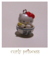 HELLO KITTY SPAGHETTI charm