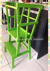 Learning Tower Montessoriana colore a scelta - possibile personalizzazione