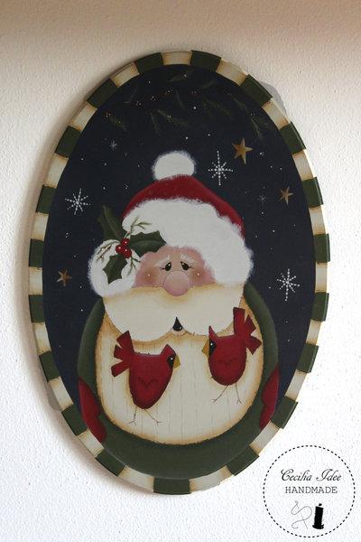 Sagoma con Babbo Natale