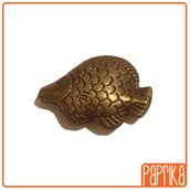 3 Perle Bronzo a forma di pesce