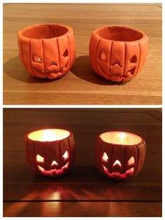 Porta candele fatti a mano